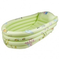 Free shipping Yingtai inflatable baby infant Large portable bathtub baby bathtub inflatable pump