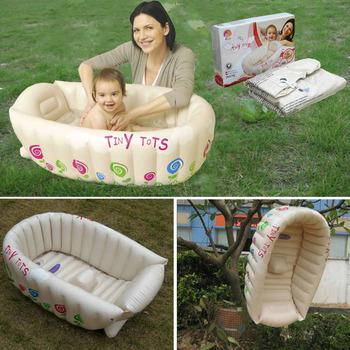 Free shipping Infant inflatable bathtub baby bathtub pool swimming pool pump