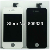 10pcs/lot For iPhone 4s LCD Display+Touch Screen digitizer+Frame assembly ,100% gurantee Free Shipping