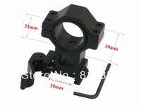 High quality 25.4mm /30mm Adjustable scope rings / weaver mount rail for Laser Sight Mount with 20mm Rail