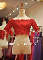 Hot sell Lace Wedding Shrug/Bridal Wrap
