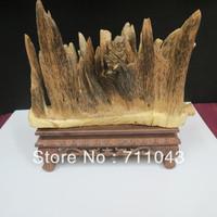405G Hainan China natural agarwood art material eaglewood modeling ornament eaglewood articles for appreciation,feng shui ect.
