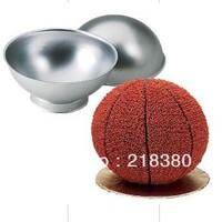 FREE SHIPPING!2013 best selling  football Shaped Cake Pan Cake Tin Cake Decoration Tool  semi-cirle sugar cake mold