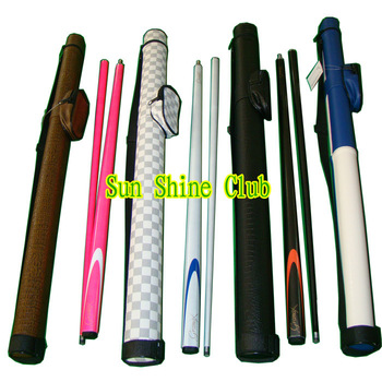 Free shipping!! Pool cue kit set/ Carbon billiard cue pool stick+Chalk+Glove+Cue case very pretty hot sales