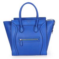 Free shipping 2013 New oxhide Leather  Cheap orange / lemon yellow/ royal blue/pink woman handbags wholesale