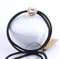 FashionRich and colorful  korean Style Elastic hairbands jewelry  Free shipping