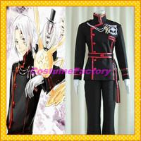 Free Shipping Custom Made D Gray Man Cosplay Allen Fullset Unifrom Costume,1.5kg/pc