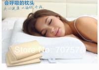 Bamboo fibre slow rebound space memory cotton pillow neck pillow repair of cervical health pillow