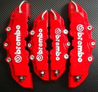 Free Shipping 4pcs/set Front+ Rear Disc Brake Caliper Cover With Brembo Universal Kit 5 Colors[01-4689]