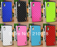 1 PC - For Google Nexus 4 LG E960 Deluxe Reinestone Bling Hard Case Cove with Diamond,phone case+screen protector free shipping