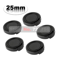 Hot sale 5X25mm Plastic Lens Cap - side-pinched Snap-on universal lens cap for 25mm lens filters(China (Mainland))