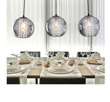 High Quality Crystal Pendant Light Modern  Lamp brief restaurant lights bar lighting SKI16603(China (Mainland))