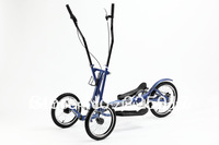 2013 New Arrival three wheel streetstrider/elliptical cross-trainer on three wheels/elliptical powered bicycle
