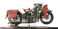 Free Shipping! 2013  newest ! 1:18 Proportion Exquisite  Alloy Harley-Davidson Motor Model 1942 WLA Flat Head