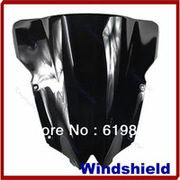 A31 Free Shipping New Motorcycle Windshield Windscreen For Yamaha 2008-2011 YZF R6 2009 2010 Black