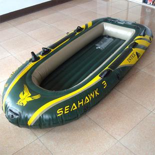Intex68349 seahawks three inflatable boats rubber boat 3 ship fishing boat