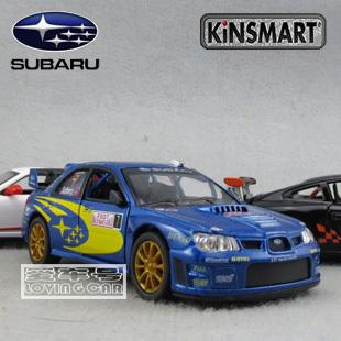 Soft world SUBARU impreza wrc 2007 WARRIOR alloy toy car model