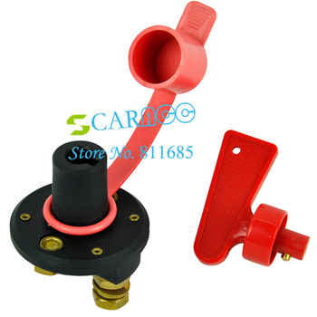 New arrival Battery Disconnect Kill Cut Off Cutoff Switch Brass Terminals Car Boat Truck TK0571
