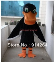 New Style Black Duck Mascot Costume Adult Size   /free shipping  by FEDEX DHL