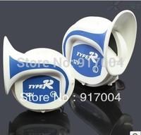 Free shipping DC 12v Dual Tone Compact Air Horn Snail Car Motorcycle Vehicle Bike Boat RV Air horn super loud