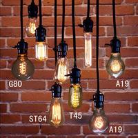 free shipping Antique light bulbs pendant light nostalgic vintage light bulb combination pendant light st64 t45 g80 a19