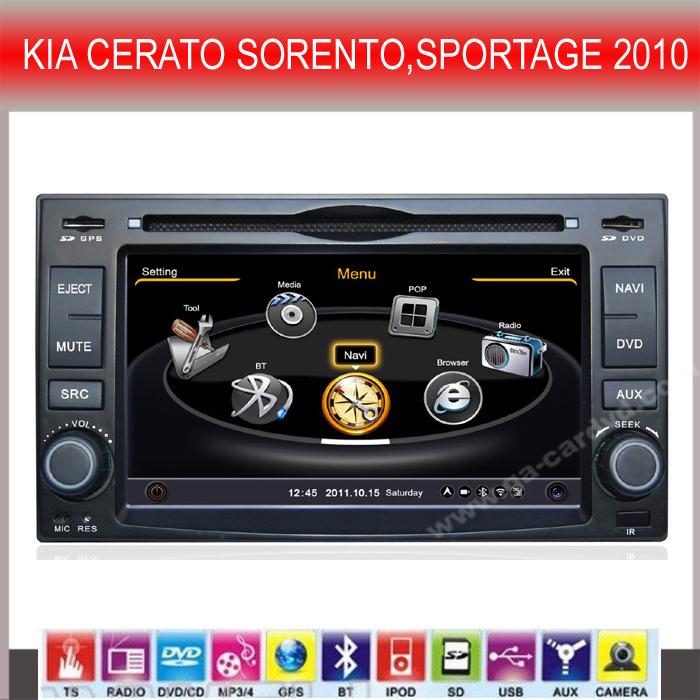 Special Car DVD GPS for KIA CERATO SORENTO,SPORTAGE 2010 (CY-C046)(China (Mainland))