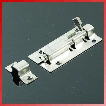 Free Shipping 5pcs/lot Stainless Steel Door Latch Barrel Bolt Latch Hasp Stapler Gate Lock Safety