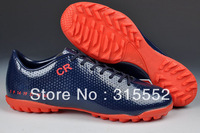2013 New Styles Turf Soccer Shoes,IX C-R Soccer Boots,Mens Branded Sports Football Boots 5 Colors Mix Order Good Quality!