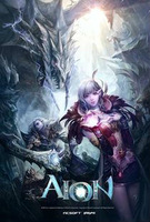 Free shipping posters Game poster AION interior decoration decorative picture