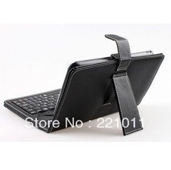 Synthetic Leather Case + USB 2.0 Standard Qwerty Keyboard for 10.2 Inch & 10 Inch Google Android Epad Apad Tablet Pc MID Zt-180(China (Mainland))