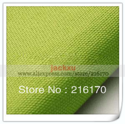Free Shipping Apple Green outdoor sofas and chairs cushion fabric upholstery cotton canvas material J332(China (Mainland))