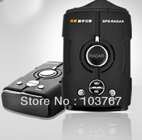 Brand New! Factory price Car Radar detector Multi-language support with LED screen display 360 V8,  free shipping