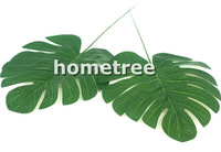 12pcs large silk palm leaves wedding birthday christmas party home garden DIY flowers decorations free shipping