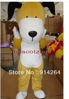New Professional Cute Puppy Dog Mascot Costume Fancy Dress Adult Size    /free shipping  by FEDEX DHL