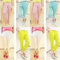 2013 Fashion high women&#39;s Loose Long Trousers OL casual harem pants High Waist LEGGINGS Trousers Cindy 4 colours