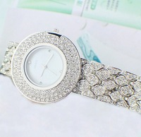 Fashion women's watch quartz watch beautiful vintage