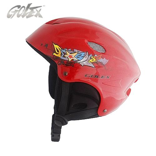 The foreign trade original single new golex of double-plate snowboarding helmet ski Safety ski hat helmet women free shipping(China (Mainland))