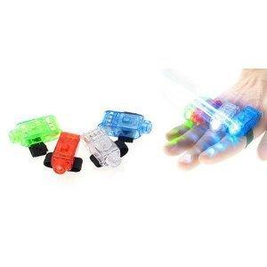 100pcs/lot Freeshipping mini 40 Super Bright Finger Flashlights - LED Finger Lamps - Rave Finger Lights