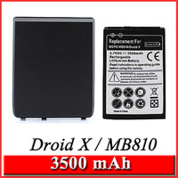 3500mAh Extended Battery + Back Door Cover for Motorola Droid X MB810 BH5X Singapore Postal fast ship