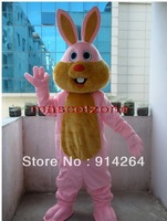 Professional Bunny Rabbit Mascot Costume Adult Size   /free shipping  by FEDEX DHL