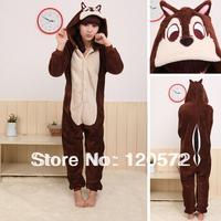 Adult Unisex Animal Cute mouse Pajamas Onesie Sleepsuit Cosplay Sleepwear