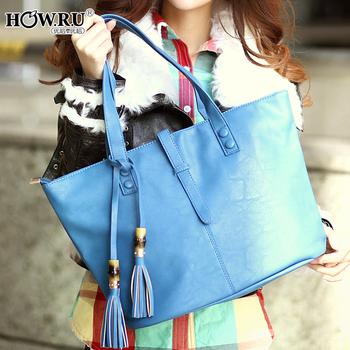 2013 women's spring handbag howru 2013 tassel decoration female bags o