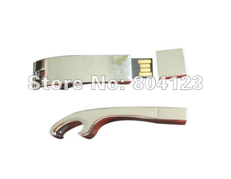 Free Shipping! Metal Claws opener USB Flash Drive U disk 2GB to64GB 100%real capacity USB 2.0 Memory Stick Flash Pen Drive(China (Mainland))