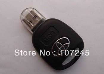 Free shipping+Drop shipping retail genuine usb3.0 64GB 128GB usb drive pen drive usb flash drive memory Toyota car key plastic