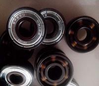 Bsb white pottery beads white ceramic bearing zirconia bearing roller bearing slalom skates bearing  16PCS