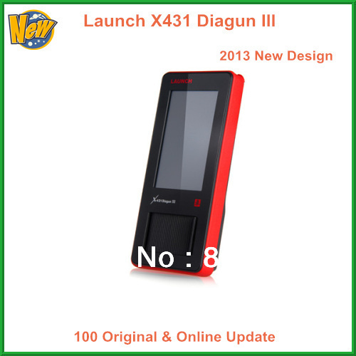 2013 Launch New Design Auto Scan Tool 100% Original Launch X431 Diagun III Online Update X-431 Diagun III Diagun Free Shipping(China (Mainland))