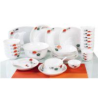 36pc porcelain dinner set,  ceramic tableware 36 pc  tableware set bowl dish plate