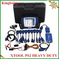 2013 New professional xtool tech PS2 truck diagnostic tool heavy duty PS2 truck scanner(China (Mainland))