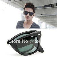 Free postage Star style 4105 folding polarized sun glasses large sunglasses male women's fashion vintage