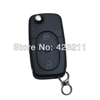 FLIP Folding Key Remote Case For Audi A2/A3/A4/A6/A8